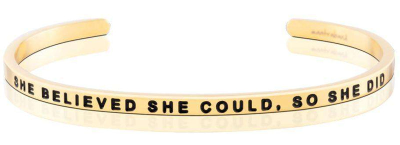 MantraBand | Strength - She Believed She Could, So She Did
