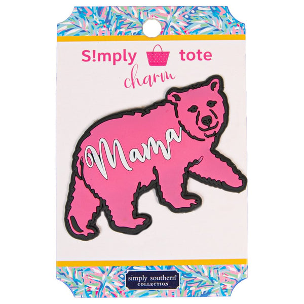 Simply Southern Tote Charm ~ Mama Bear