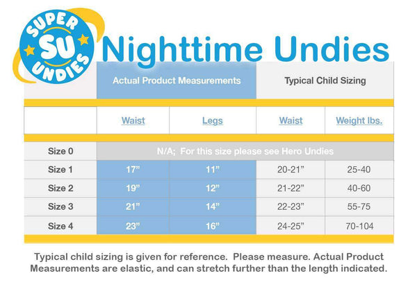 Super Undies Nighttime Undies (Micro) - Moo