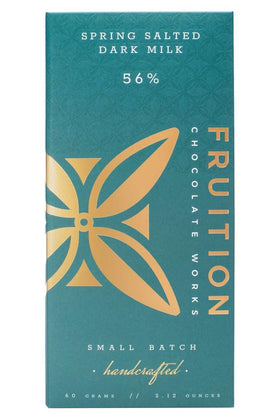 Fruition Chocolate - Spring Salted Dark Milk Chocolate Bar