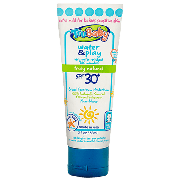 TruBaby | Water & Play Water Resistant Sunscreen ~ SPF 30+ 2oz