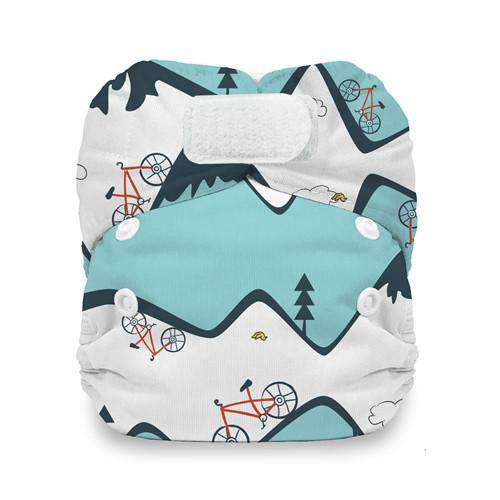Thirsties Natural Newborn All In One Diapers | Hook & Loop (7166740225)