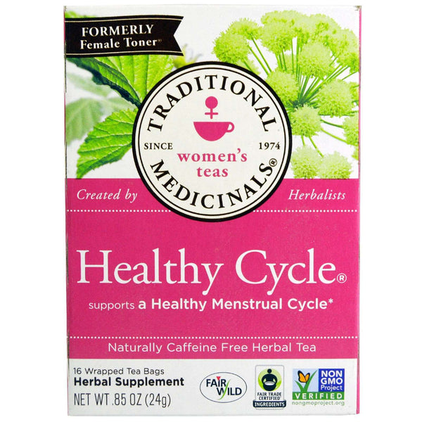 Organic Healthy Cycle Tea by Traditional Medicinals