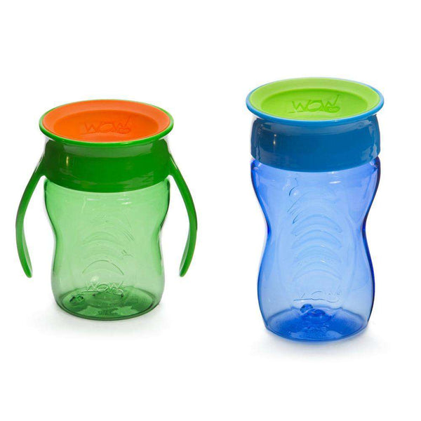 Wow Gear | 360 Tritan Twin Pack ~ Green & Blue