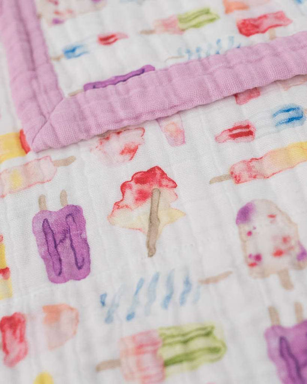 Little Unicorn | Big Kid Muslin Quilt ~ Brain Freeze