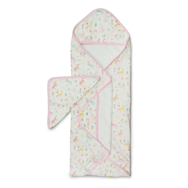 Loulou Lollipop | Hooded Towel ~ Unicorn Dream