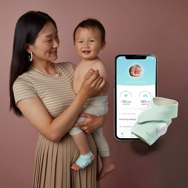 Owlet Smart Sock Baby Monitor - 3rd Generation