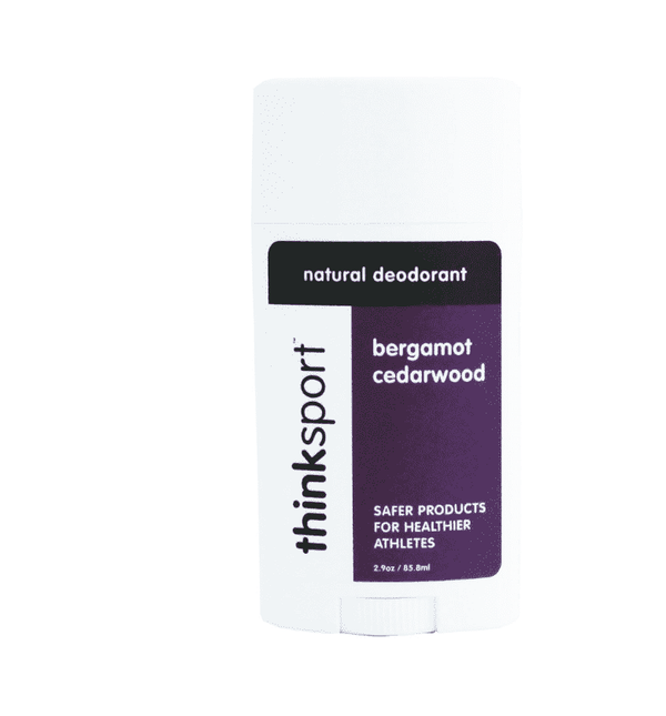 Think Sport Natural Deodorant | Bergamot Cedarwood