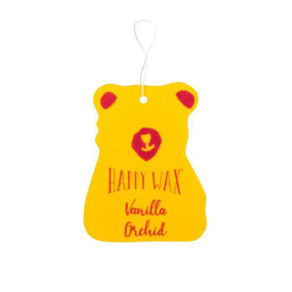 Happy Wax - Scented Car Freshener ~ Vanilla Orchid