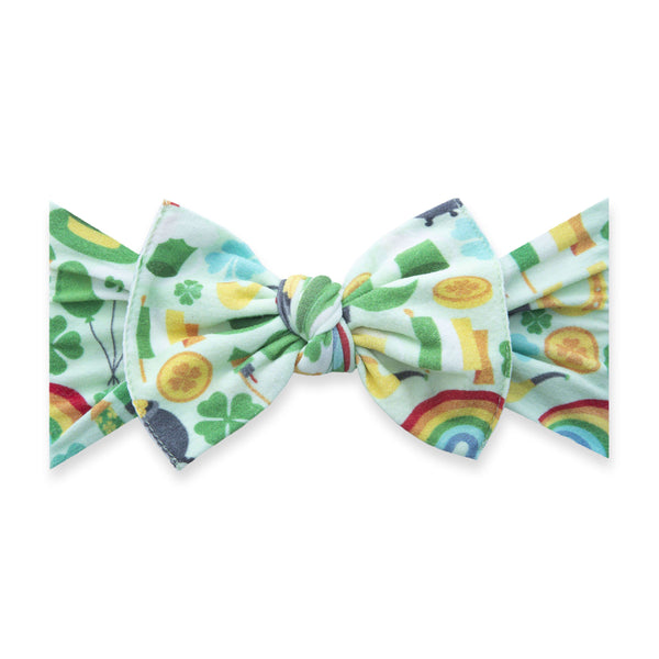 Baby Bling Bows |  Patterned Knot ~ Paddy's Party