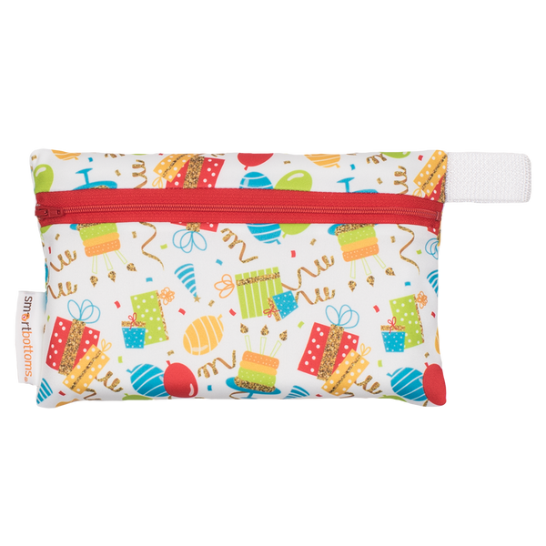 Smart Bottoms | Mini On the Go Wetbag ~ Birthday Party