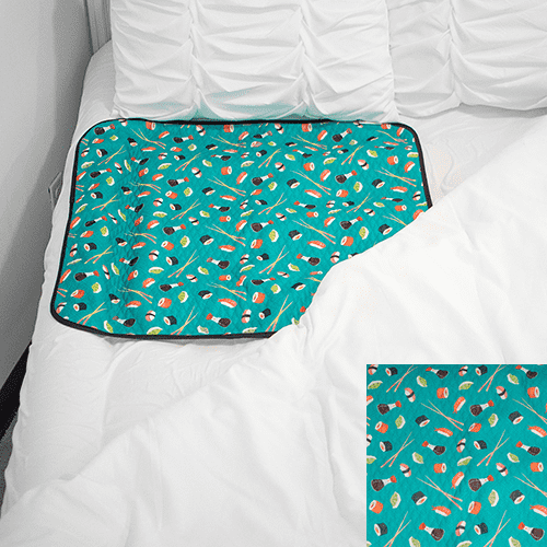 Smart Bottoms | Waterproof Mattress Pad ~ You're My Soy Mate