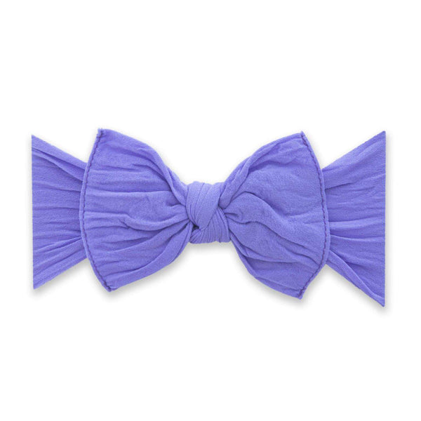 Baby Bling Bows | Classic Knot Headband ~ Amethyst
