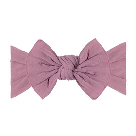 Baby Bling Bows | Classic Knot Headband ~ Mauve