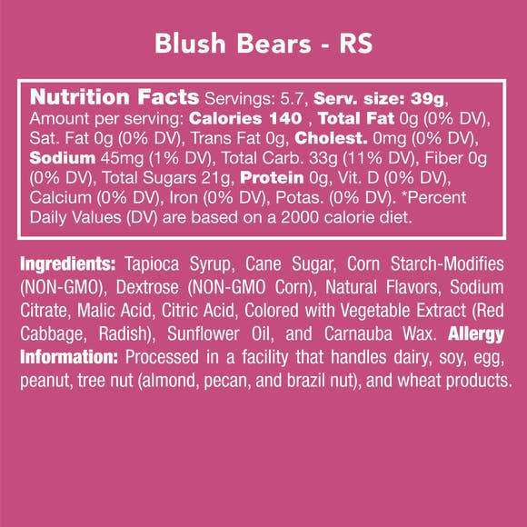 Candy Club ~ Blush Bears
