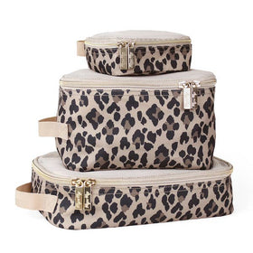 Itzy Ritzy | Pack Like A Boss Packing Cubes ~ Leopard