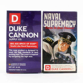 Duke Cannon - Big Ass Brick of Soap - Naval Supremacy