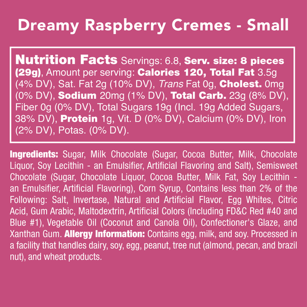 Candy Club | Valentine's Day Collection ~ Dreamy Raspberry Creams