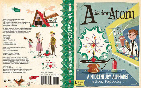 BabyLit Book | A is for Atom