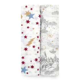 Aden + Anais 2 Pack Swaddle  | Harry Potter Iconic
