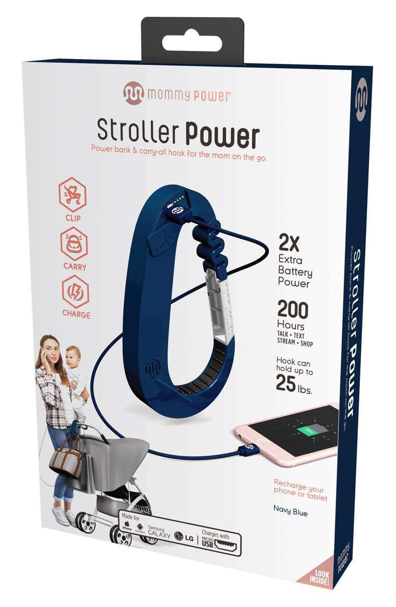 Mommy Power |  Stroller Power ~ Navy