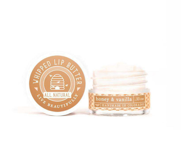 Live Beautifully - Whipped Lip Butter - Honey & Vanilla