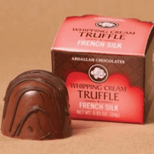 Abdallah Chocolate | 1 Single Whipping Cream Truffle ~ French Silk