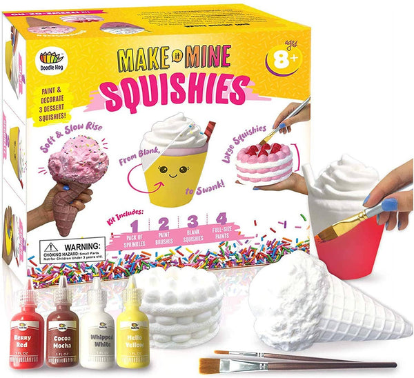 Doodle Hog - DIY Dessert Paint Your Own Squishies Kit!