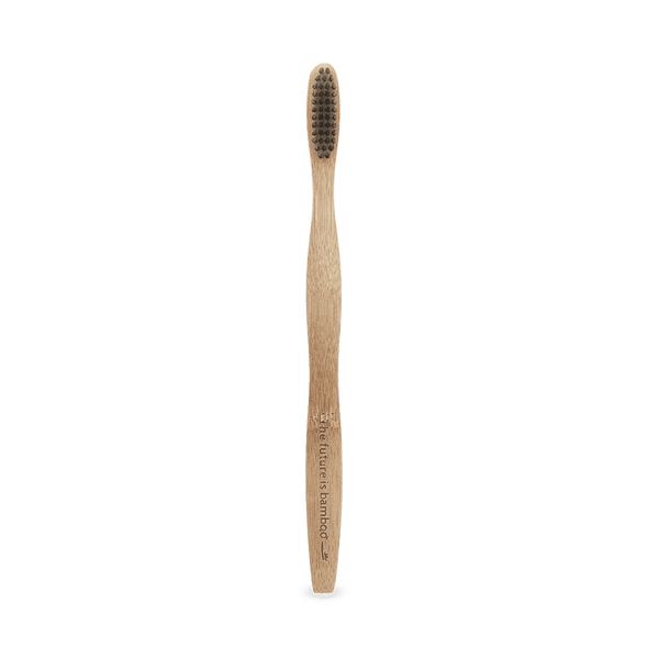The Future is Bamboo | Charcoal Bamboo Adult Toothbrush