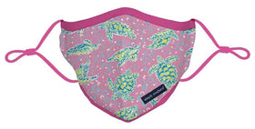 Simply Southern | Adjustable Strap Cotton Face Masks ~ Sea Turtles