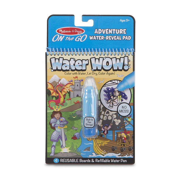 Melissa & Doug | Water WOW! ~ Adventure Water Reveal Pad
