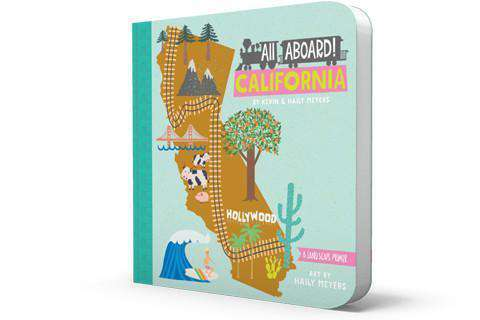 BabyLit Book | All Aboard! California