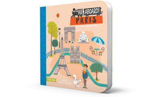 BabyLit Book | All Aboard! Paris