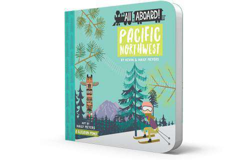 BabyLit Book | All Aboard! Pacific Northwest