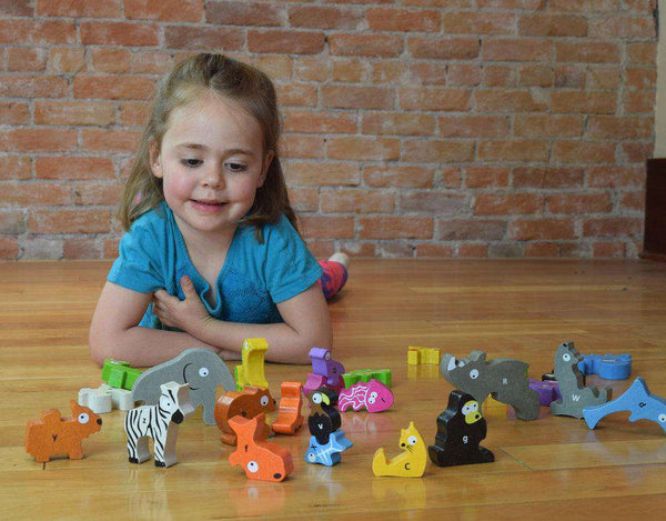 Begin Again Toys | Animal Parade A to Z