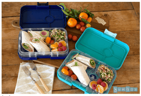 Yumbox Tapas 5 Compartment  ~ Portofino Blue