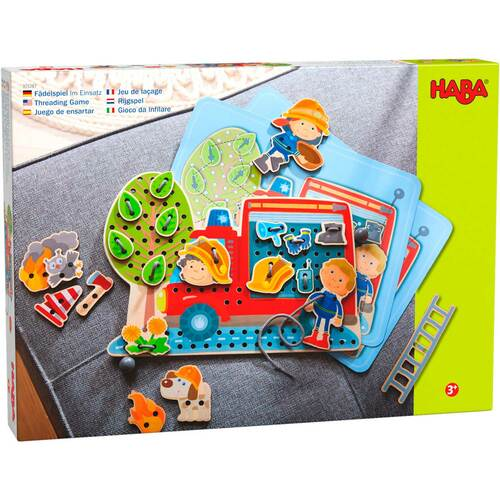 Haba | In Action! Threading Game