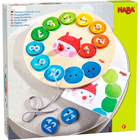 Haba | Rainbow Caterpillar Threading Game