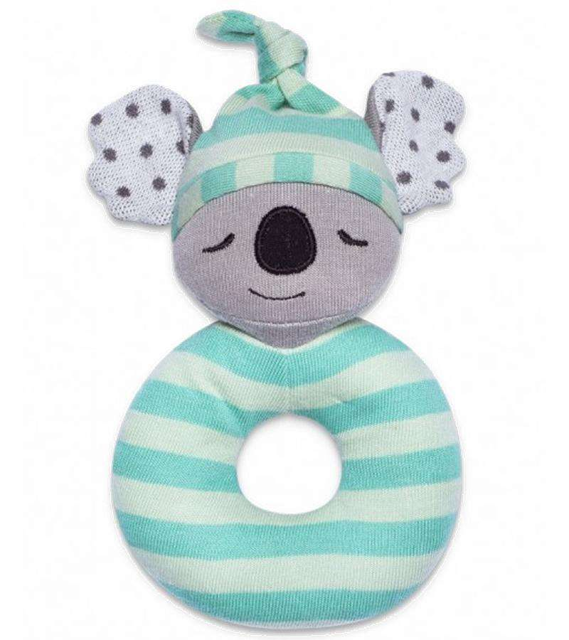 Apple Park Organic Farm Buddies Rattle | Kozy Koala