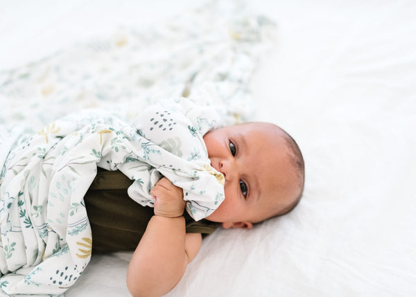Copper Pearl |  Knit Swaddle Blanket ~ Aussie