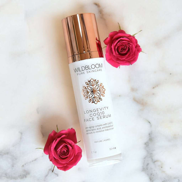 WildBloom Skincare - Longevity CoQ10 Face Serum