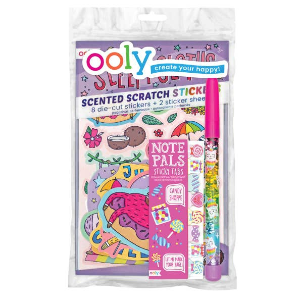 Ooly | Sweets & Sloths Happy Pack