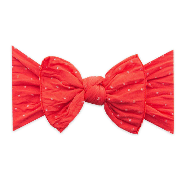 Baby Bling Bows |  Patterned Knot ~ Cherry Dot