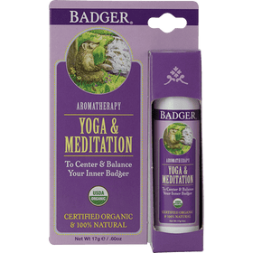 Badger Healthy Body Care ~ Yoga & Meditation Aromatherapy