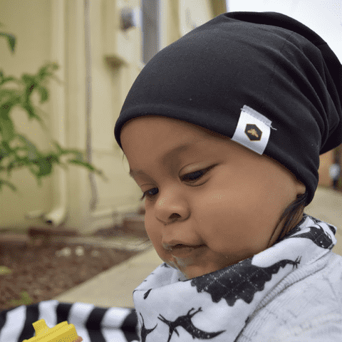 Bumblito | Toddler Beanie ~ Basic Black