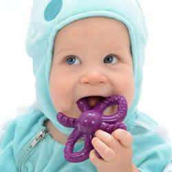 Banana Baby Octo ToothBrush Teether