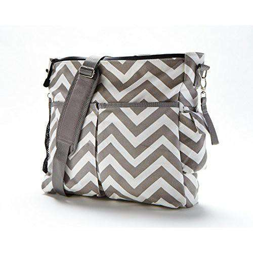 Baby Ktan | SmartGear Diaper Bag ~ Grey Chevron