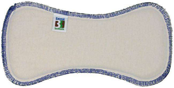 Best Bottom Diapers | Hemp/Organic Cotton Overnight Inserts