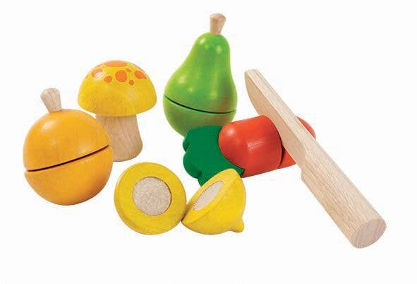 PlanToys - Fruit And Vegetable Play Set