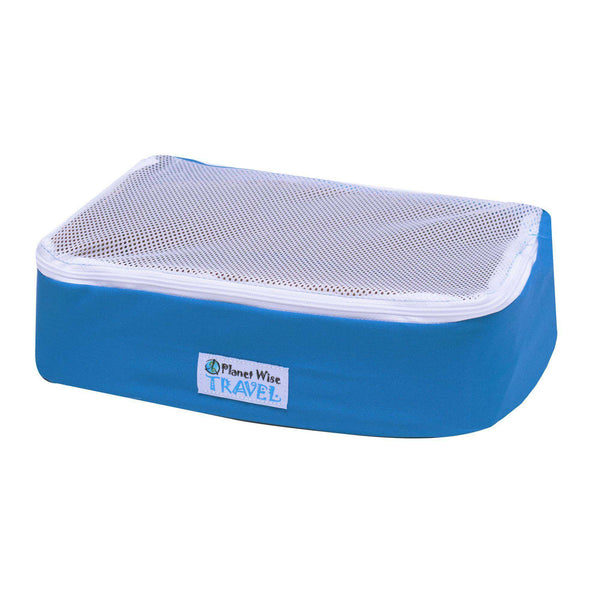Planet Wise Packing Cube ~ Blue Traveler